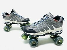 Rc Sports Sonic Cruiser Softmax Fit Mesh Gray Roller Skate Shoes Men's Us 6