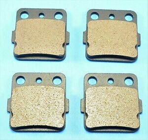 Front and Rear Brake pads fit Honda 250 TRX250X Fourtrax 1987 1988 1991 1992