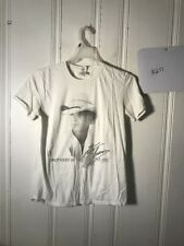 KENNY CHESNEY TOUR TEE MENS MEDIUM IVORY S/S GRAPHIC #A277