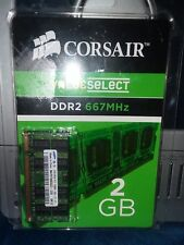 2 GB Corsair laptop memory RAM DDR2 667 MHz PC2 5300 single VS2GSDS667D2 N.I.P