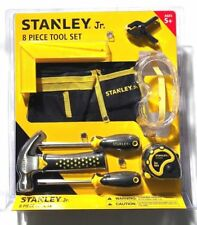 Brand New Sealed Stanley Jr. by Black & Decker 8 Piece Tool Set