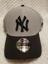 NEW YORK YANKEES HAT CAP MEDIUM/LARGE M/L STRETCH FIT FITTED FLEX 39THIRTY ERA