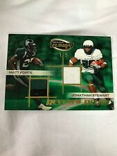 Matt Forte Jonathan Stewart Jersey /5 Press Pass 2009 Tulane Oregon Ducks