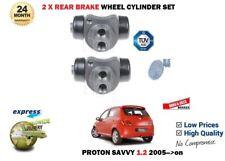 für Proton Savvy 1.2i G4F 2005- > NEU 2x HINTERE Brems- Radzylinder Satz