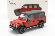 Mercedes-Benz G-Klasse G63 AMG Crazy Colors tomaten rot 1:18 iScale