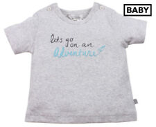 Bébé by Minihaha Baby Bailey Short Sleeve Adventure Tee  Baby 9 Months (T738)