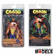 CRASH BANDICOOT Action Figure Videogame Sony Xbox Nintendo Neca 16cm New Nuovo