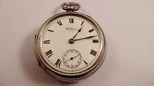 WALTHAM U.S.A silver antique vintage pocket watch