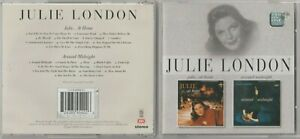 Julie London - Julie...At Home / Around Midnight NEW CD  Remastered capitol JAZZ