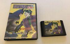 Batman Revenge of Joker Sega Genesis Mega Drive Boxed Sunsoft Rare NTSC American