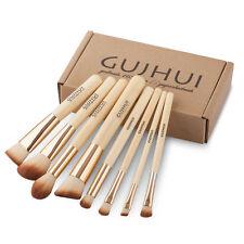 8Pcs Bamboo Makeup Brush Set Cosmetic Foundation Blending Pencil Brushes Kabuki
