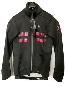 Ale Womens Road Cycling Double Zip Winter Jacket Medium Black New Old Stock