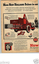 1949 PAPER AD 2 Pg Hay Machinery New Holland Loader Baler Floating Pick-Up