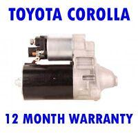 Toyota Corolla 1.6 Sedán 1992 1993 1994 1995 Motor de Arranque