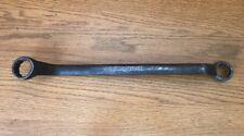 """Vintage Double Box End Wrench Chromium Vanadium Steel 1"""" 15/16"""""""