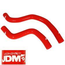 JDM Upgrade Silicone Rdiator Hose Red For 01-08 Evolution 7 8 9 VII VIII IX
