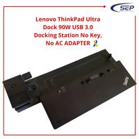 Lenovo ThinkPad Ultra Dock 90W USB 3.0 Docking Station No Key, No AC ADAPTER