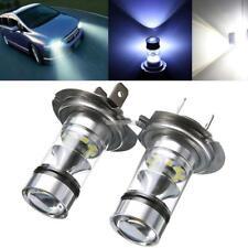 2Pcs H7 100W 6000K Led Lights White Car Driving DRL Fog Lamp Bulbs ER99