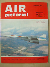 AIR PICTORIAL MAGAZINE JUNE 1971 CONCORDE - FRENCH AIRCRAFT INDUSTRY