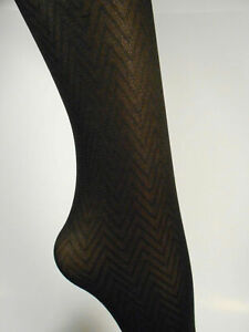 Tights Tummy Smoother Microfiber, CHEVRON PATTERN SIZE 1 -  LOT / CASE  96 pairs