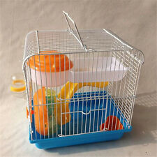 Portable Bowl Running Wheel Hamster Slide Pet Supplies Cage Feeding Water 1 Set