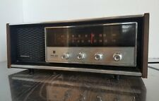 Vintage Panasonic AM FM radio RE 7369 Solid State Wood Veneer Works Great