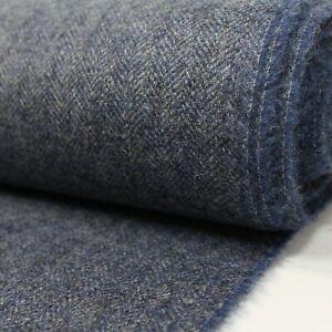 100% Wool UK Made Tweed Fabric Cloth *£26.50 Per Metre* Not Harris - Small Batch