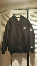 LOS ANGELES RAIDERS STARTER COAT SZ XL PRE-OWNED *SEE PHOTOS & READ DESCRIPTION