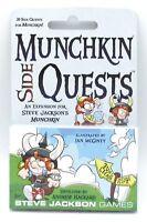 Munchkin SJG4264 Side Quests (30 Card Expansion) Steve Jackson Games Humor NIB