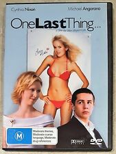 One Last Thing (Cynthia Nixon & Michael Angarano) DVD (Region 4)