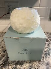 Partylite Frosted Snowball Tealight Holder - Holiday!