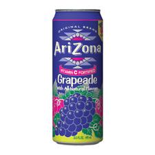 Arizona Grapeade jus de fruits cocktail 680 ml (Pack de 6)