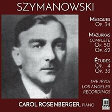 SZYMANOWSKI / ROSENBERGER-1970S LOS ANGELES RECORDINGS (2PK) (UK IMPORT)  CD NEW