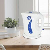 1.7L Cordless Electric Kettle Hot Water White Jug Kitchen Caravan Travel   2200W