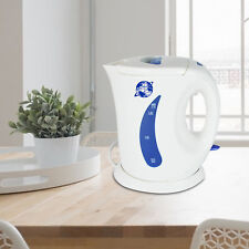 1.7L Cordless Electric Kettle Hot Water White Jug Kitchen Caravan Travel | 2200W