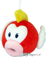 "Super Mario Bros.  6"" Pukupuk Cheep Cheep Fish Soft Plush Toy Doll Xmas Gift"