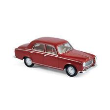 Norev 474331 PEUGEOT 403 ROSSO 1963 Scala 1:43 MODELLINO AUTO NUOVO !°