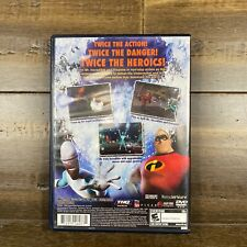 The Incredibles Rise of The Underminer PlayStation 2 Ps2 Game Complete Tested