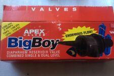 "Apex 1¼"" BigBoy Diaphragm Reservoir Single/Dual level High Flow Float valve BB32"