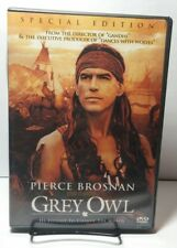 Grey Owl (DVD,2000,Subtitled in French and Spanish)Pierce Brosnan-Free Shipping