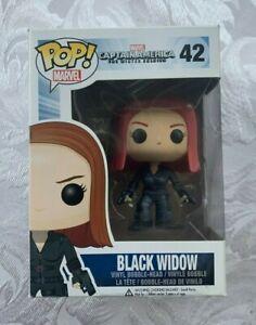 Funko POP! Captain America: The Winter Soldier - Black Widow #42 Figure New