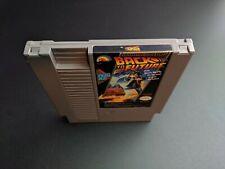 Back to the Future LJN Authentic Nintendo NES NRMT condition game cartridge