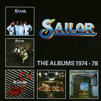 Sailor - The Albums 1974-78: 5CD Clamshell Boxset [CD]