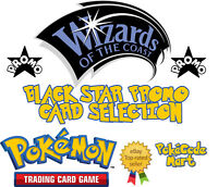 Pokemon TCG Wizards of the Coast WOTC Black Star Promo Card Selection