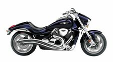 Cobra Chrome Speedster Swept Exhaust Pipes 2006-2015 Suzuki Boulevard M109R 3221