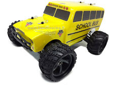 MONSTER TRUCK SCHOOL BUS ELETTRICO BD RC-370 RADIO 2.4GHZ 1/18 RTR 4WD HIMOTO