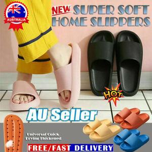 PILLOW SLIDES Sandals Ultra-Soft Slippers Extra Soft Cloud Shoes Anti-Slip KC