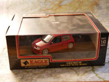 UNIVERSAL HOBBIES RENAULT SPORT CLIO V6  RED NEW ( EAGLE COLLECTIBLES )