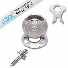 Set of 100 LOXX Strap lock System Boat Canvas Cover Fastener Snap