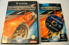 Jeu NEED FOR SPEED UNDERGROUND Complet pour Nintendo Game Cube GC